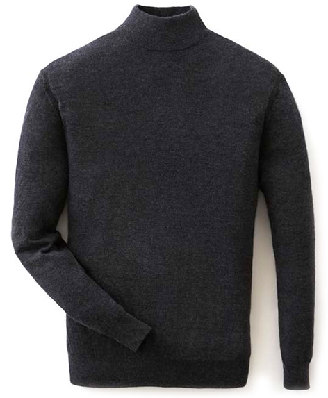 NPeal mock turtle neck sweater SPECTRE 007 Collection
