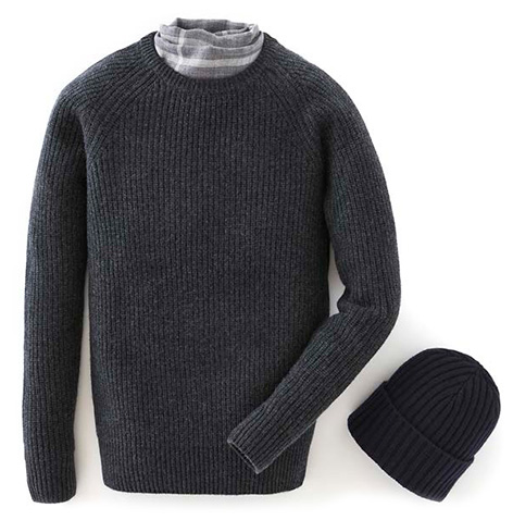 Npeal fishermans sweater Living Daylights 007 cashmere collection