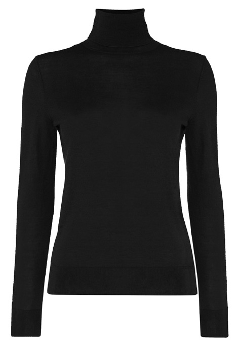 N.Peal turtle neck Tilly Masterson Goldfinger James Bond 007 Collection cashmere