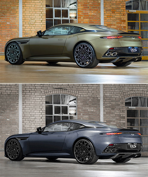Aston Martin DBS Superleggera OHMSS and Neiman Marcus edition