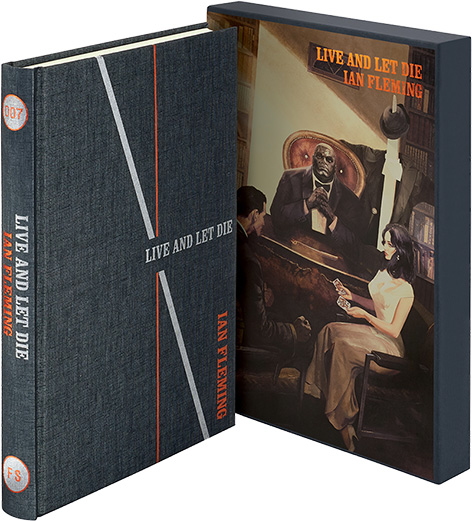 Live And Let Die Ian Fleming Folio Society cover