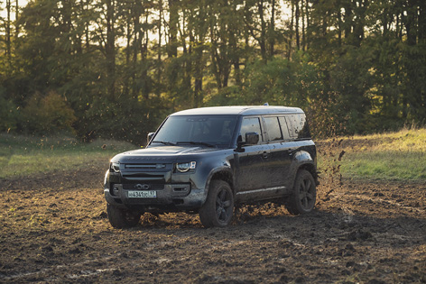 Land Rover New Defender No Time To Die