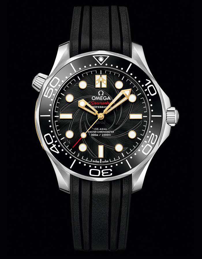Limited Edition Omega Seamaster 300M James Bond OHMSS white gold