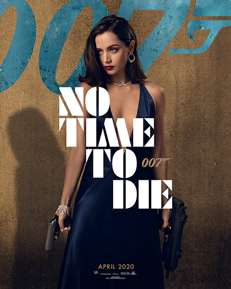 No Time To Die Character Poster ana de armas