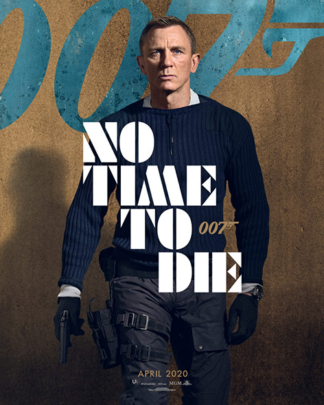 No Time To Die Character Poster Daniel Craig James Bond