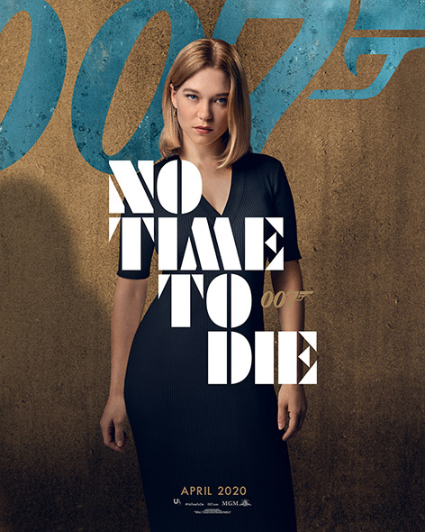 No Time To Die Character Poster Madeleine Swann Lea Seydoux