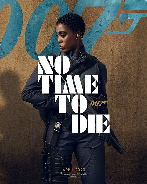 No Time To Die Character Poster Nomi Lashana Lynch