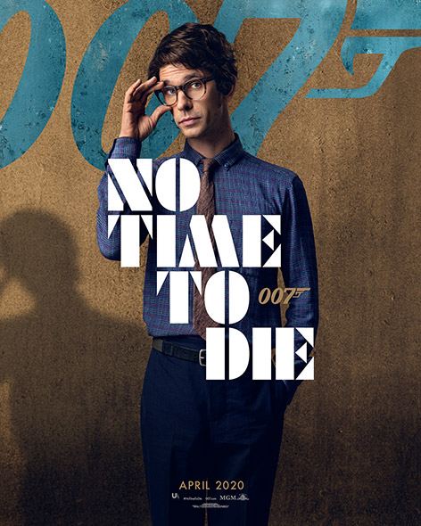 No Time To Die Character Poster Q Ben Whishaw