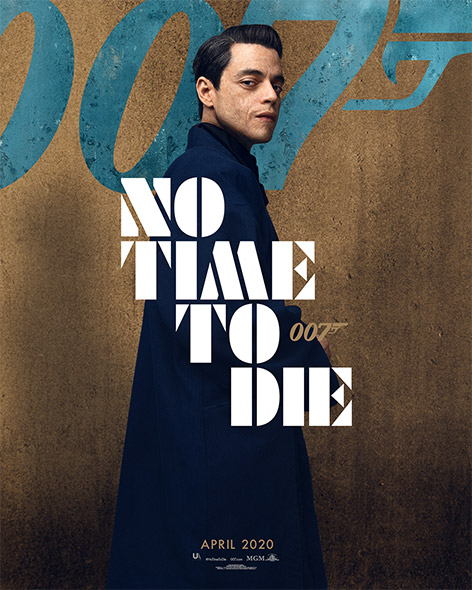 No Time To Die Character Poster Rami Malek Safin