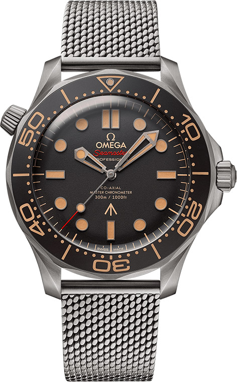Omega Seamaster 300M Diver 210.90.42.20.01.001 No Time To Die Titanium