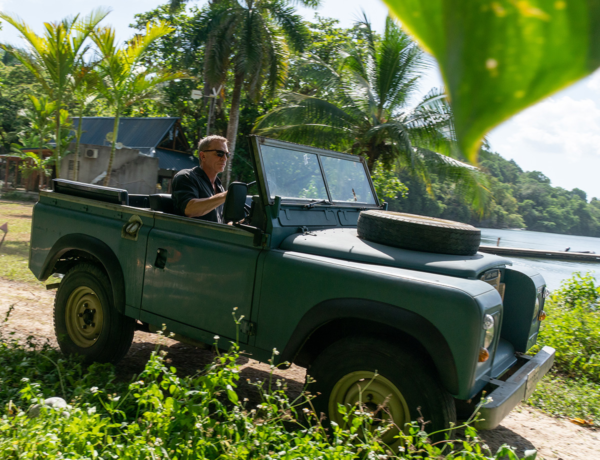 Action vehicles from James Bond film No Time To Die now on ...