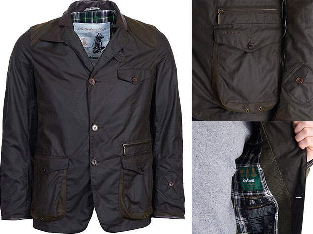 Barbour 125 Anniversary Beacon Icon Heritage jacket James Bond