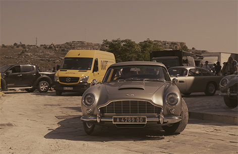 DHL James Bond No Time To Die Aston Martin DB5