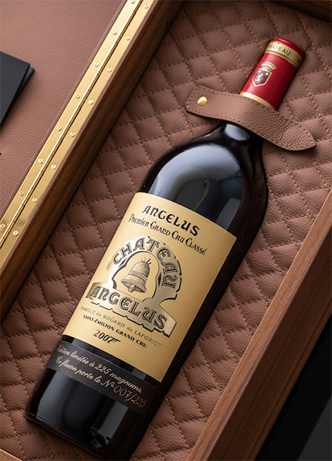 chateau angelus james bond 007 bottle box
