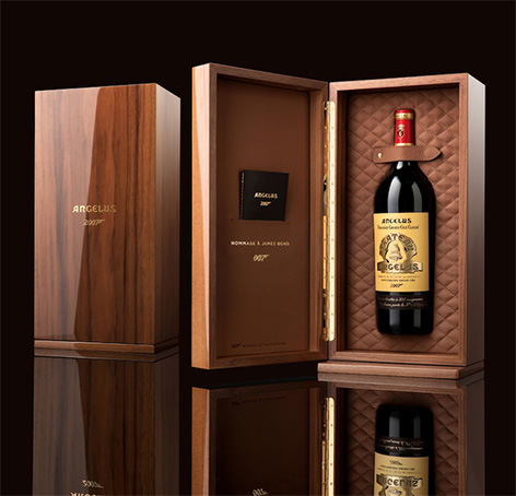 Chateau Angelus limited edition 007 james bond