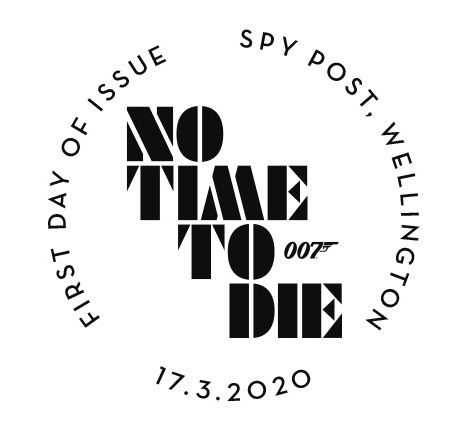no time to die stamp royal mail