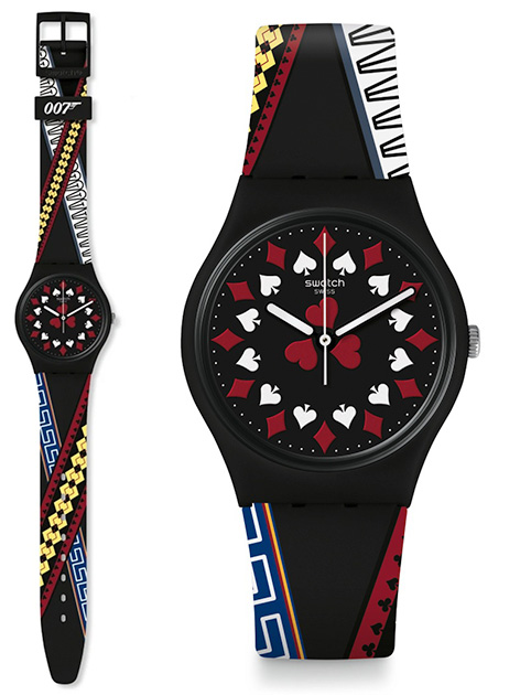 Swatch x 007 James Bond watch collection casino royale