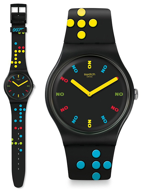 Swatch x 007 James Bond watch collection dr no