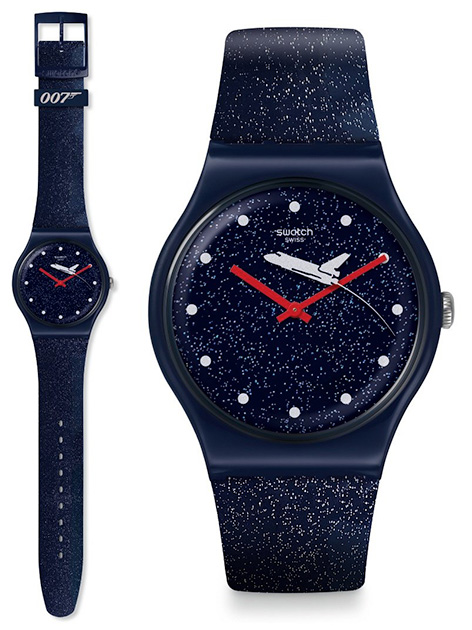 Swatch x 007 James Bond watch collection moonraker