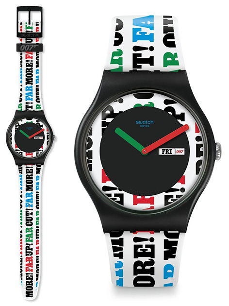 Swatch x 007 James Bond watch collection ohmss