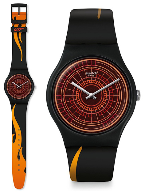 Swatch x 007 James Bond watch collection world is not enough