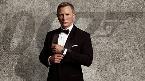 Daniel Craig James Bond Omega Seamaster 300M Advertisement