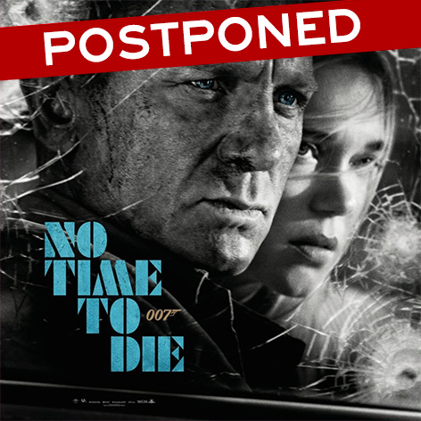 No Time To Die postponed