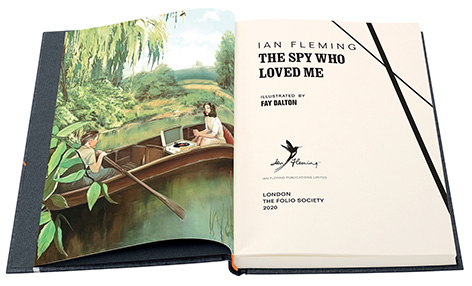 The Spy Who Loved Me Ian Fleming James Bond Folio Society illustration
