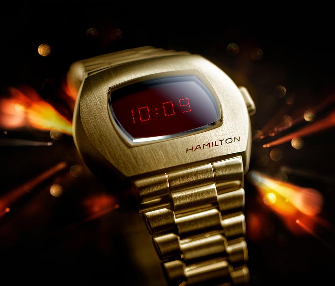 Hamilton reveals PSR watch inspired by James Bond's Pulsar