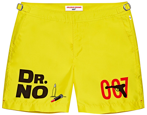 Orlebar Brown Dr No Photographic Trousers