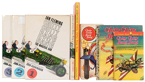 Ian Fleming chitty chitty bang bang