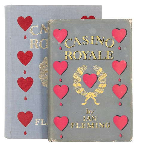 Ian Fleming James Bond Casino Royale book auction Potter
