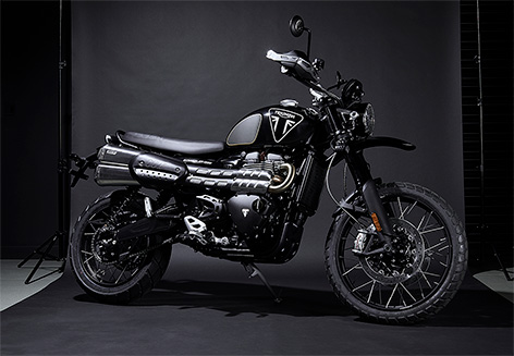Triumph Scrambler 1200 Bond Edition 1