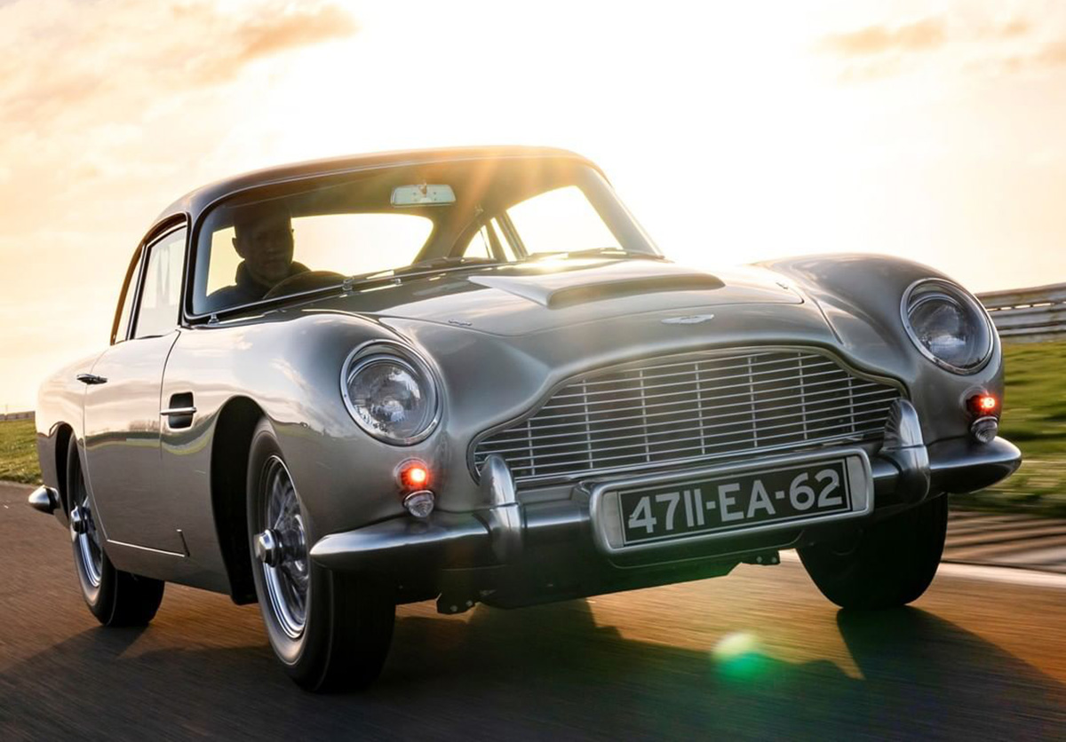 Aston Martin Starts Production Of 25 Db5 Continuation Models Freddythefox Net