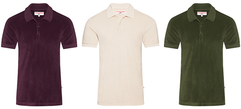 Orlebar Brown 007 reimagined Dr No Toweling Polo