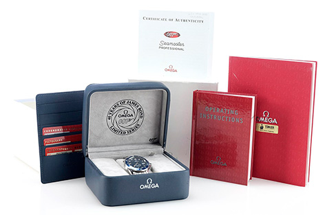 Prop Store auction omega seamaster 40 years anniversary
