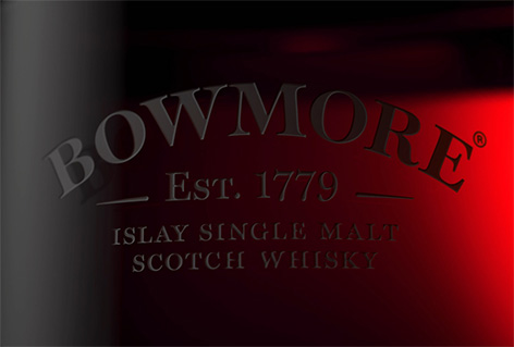 Aston Martin Black Bowmore DB5 1964 whisky engraving bottle