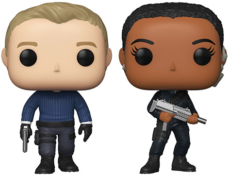 Funko Pop James Bond Nomi vinyl figurines