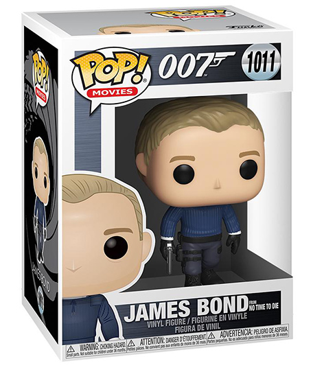 Funko Pop James Bond No Time To Die 1011