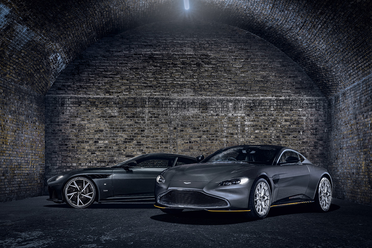 Q By Aston Martin Creates 007 Editions Of Vantage And Dbs Superleggera To Celebrate No Time To Die Bond Lifestyle
