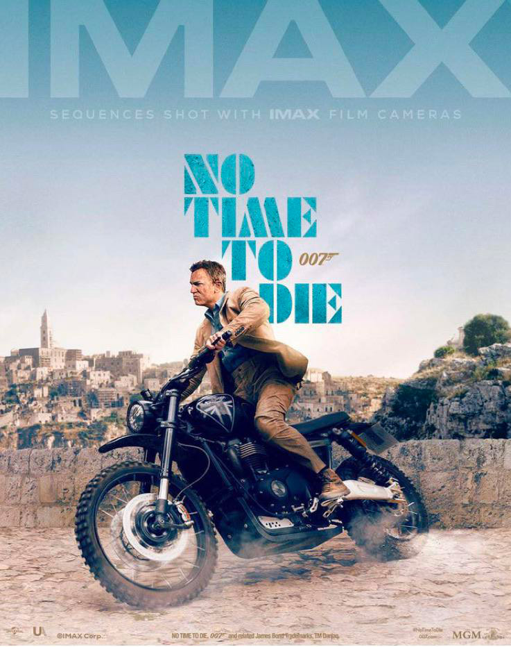 IMAX No Time To Die poster