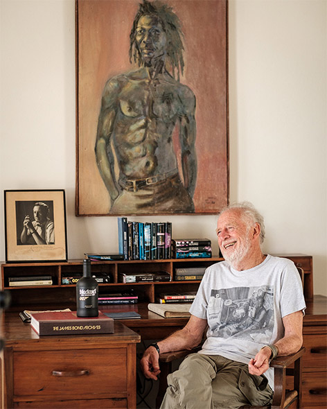 Chris Blackwell in Jamaica by Richard Stow