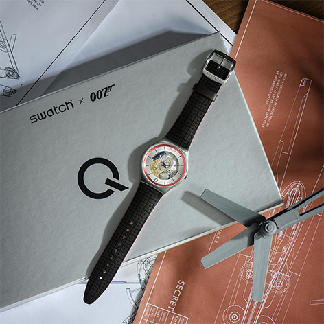 Swatch releases Q Swatch Watch ²Q Blue Edition