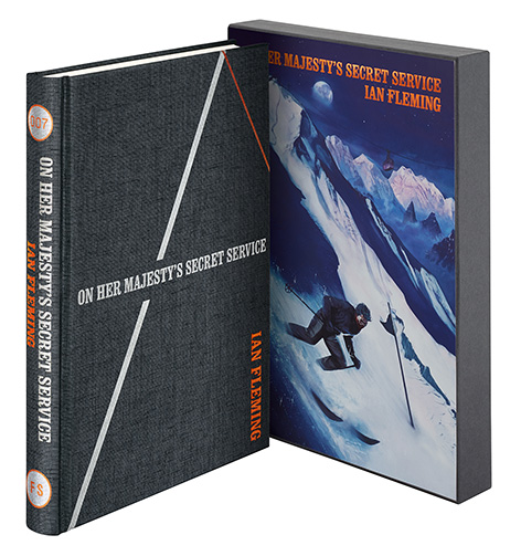 On Her Majesty's Secret Service Ian Fleming Folio Society cover