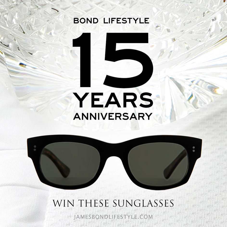 15 year anniversary bond lifestyle sunglasses