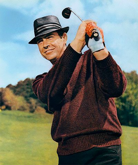 Sean Connery Goldfinger Golf