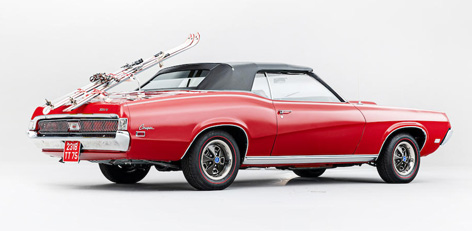 The Mercury Cougar XR-7 from On Her Majesty's Secret Service for sale at Bonhams Bond Street Sale