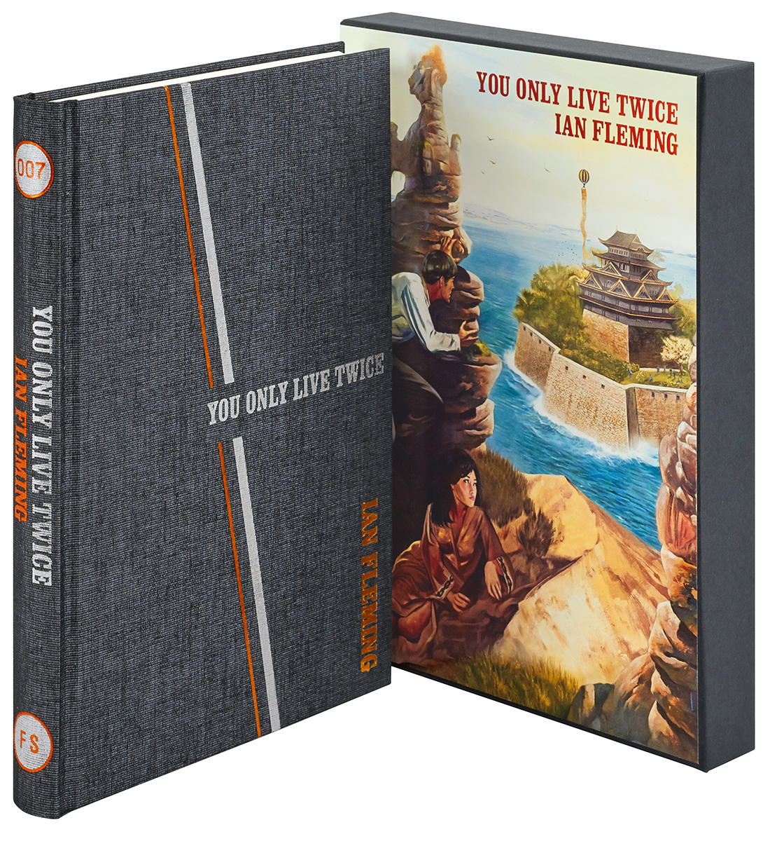 You Only Live Twice Ian Fleming Folio Society cover