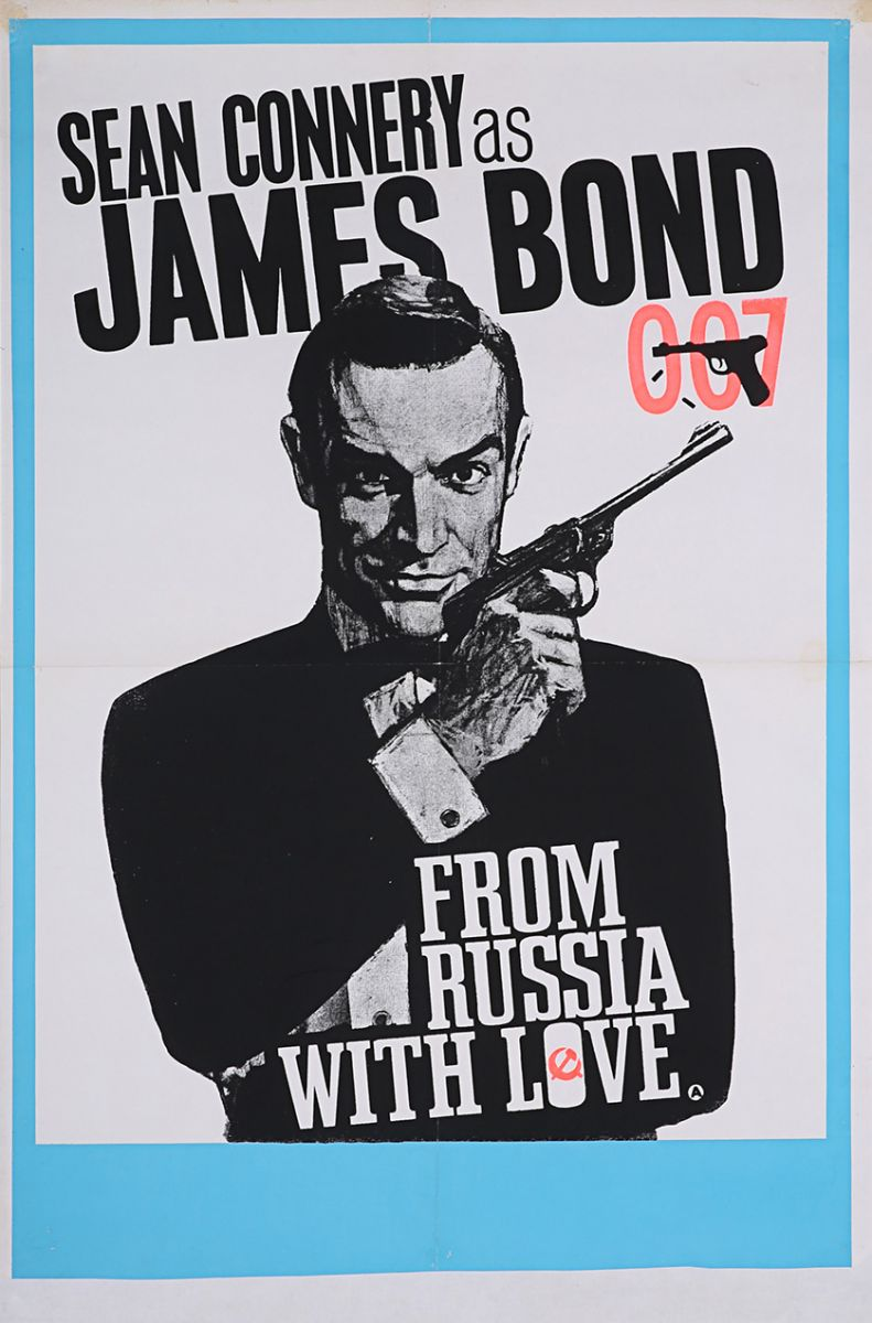 From Russia With Love poster auction prop store 2