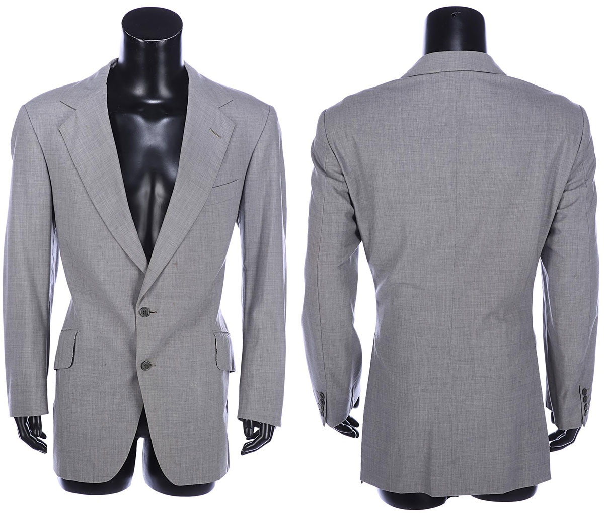 diamond are forever anthony sinclair suit james bond auction